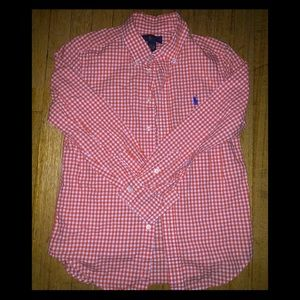 Beautiful Ralph Lauren button up shirt